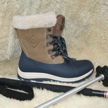 Gummistövlar Dam Muck Boots Arctic Lace, halvhögt skaft