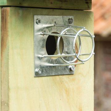 Hålskydd för fågelholk 32 mm