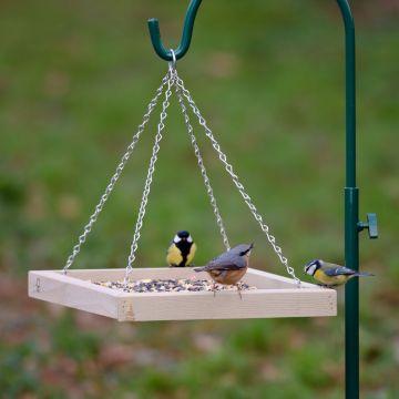 Hängande fågelbord