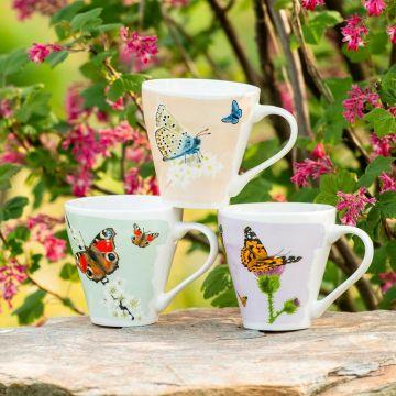 Muggset Fjärilar 3 st - Myrte