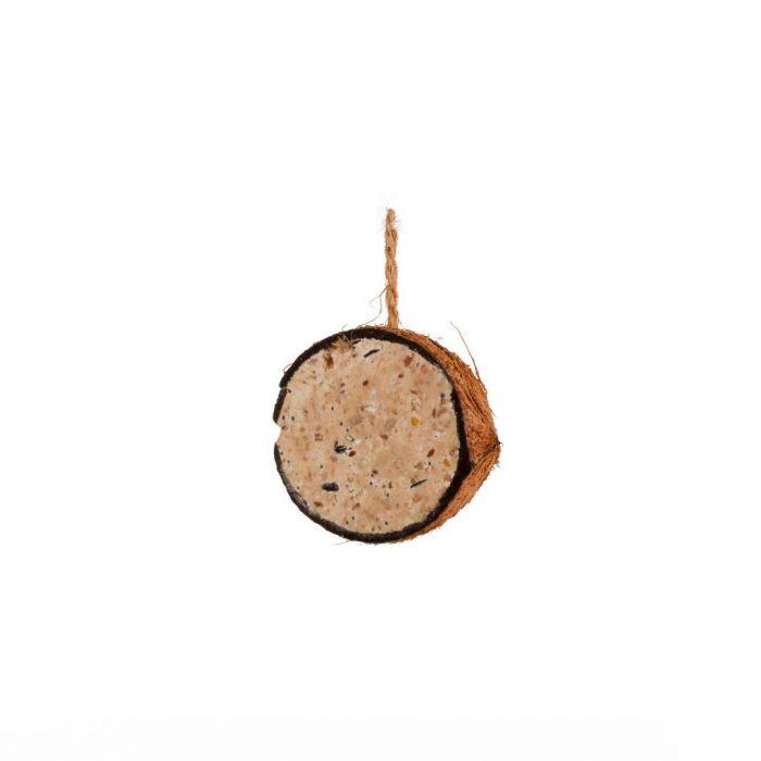 Kokosnötshalva med jordnötssmör