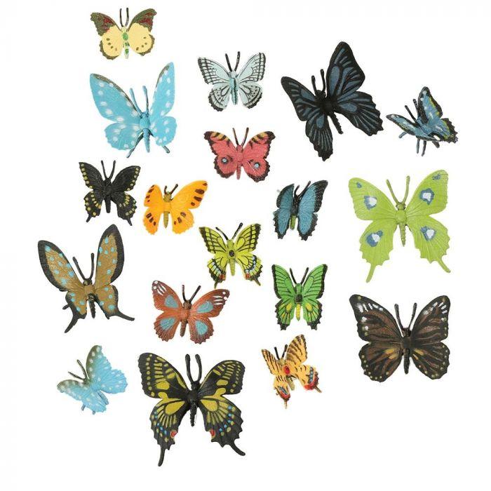 Paket med fjärilar