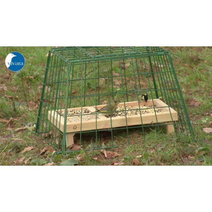 Skyddsbur Maxi för fågelbord