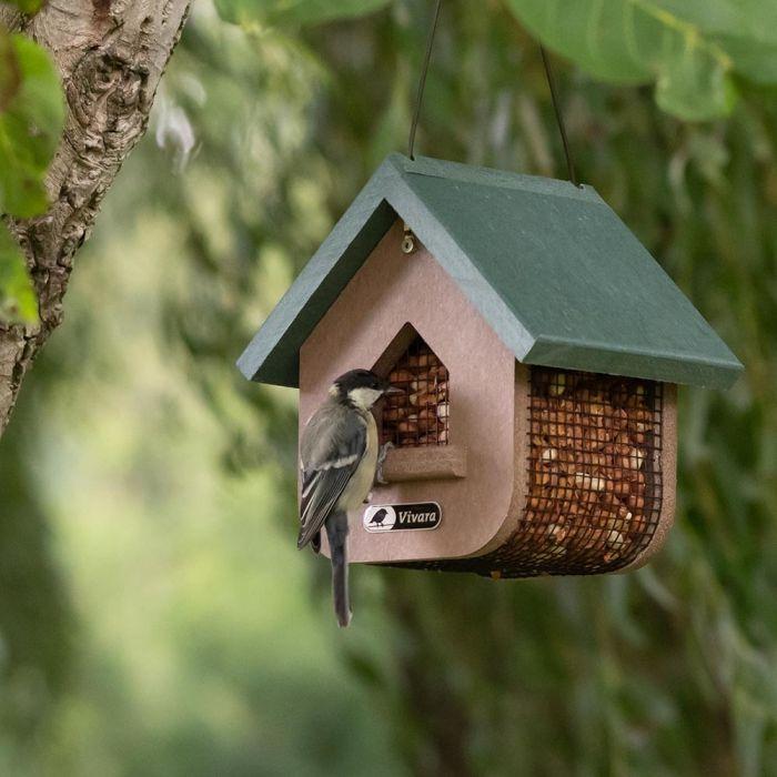 Fågelmatare för jordnötter Miletto (HDPE)