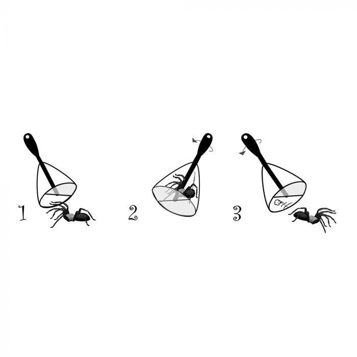 Spindelfångare BugAway - 30 cm