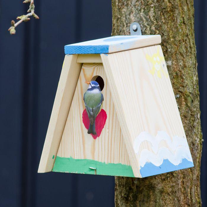 Byggsats fågelholken Nala
