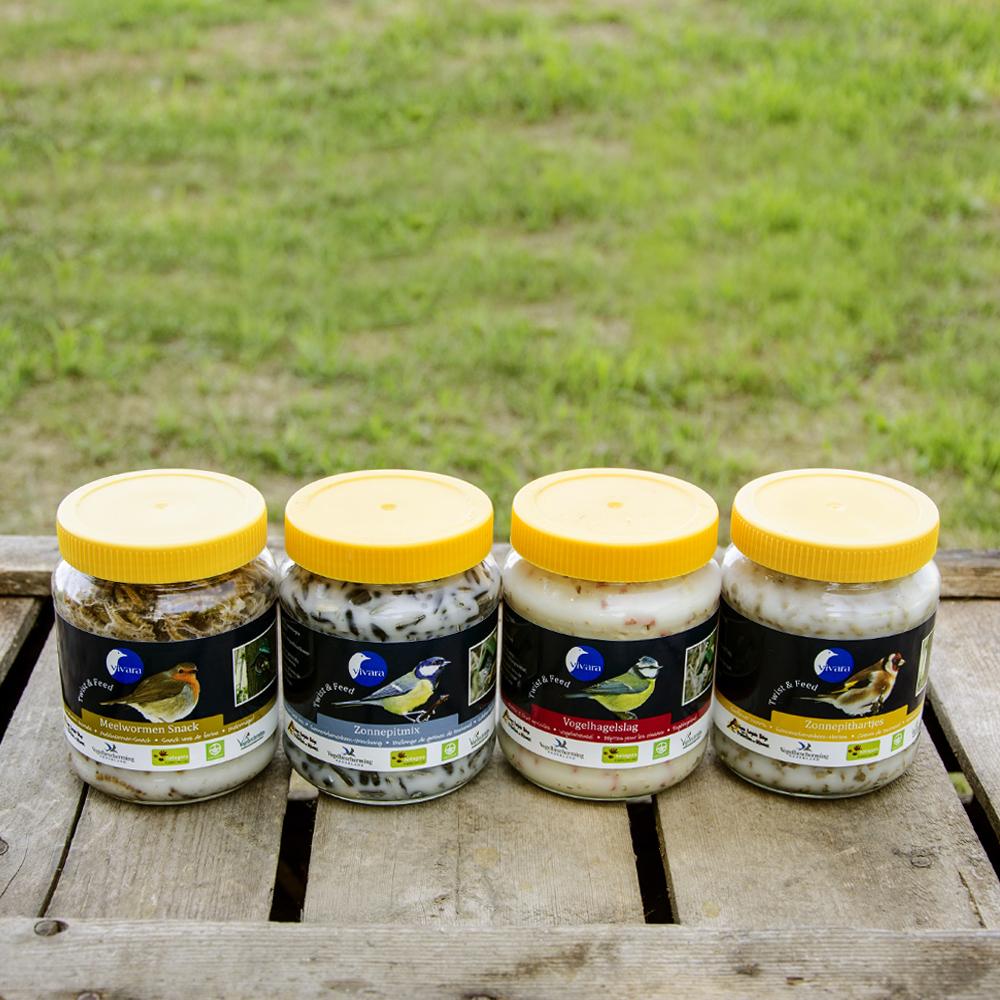 Energiburk Twist & Feed provpaket 4 st