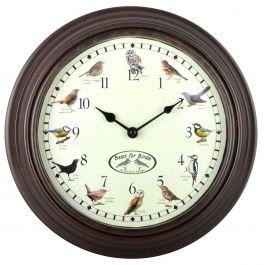 Klocka med fågelljud