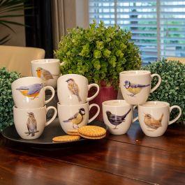 Muggset Trädgårdsfåglar 8 st - Elwin van der Kolk