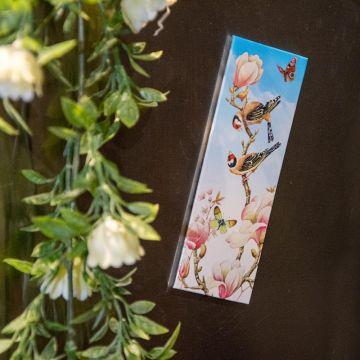 Kylskåpsmagnet, Magnolia av Janneke Brinkman