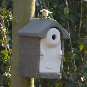 Fågelholk Sevilla WoodStone® 28 mm - Grå