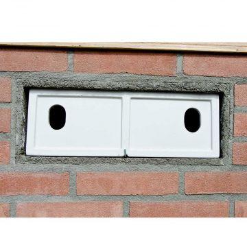 Inbyggnadsbo WoodStone® för sparvar