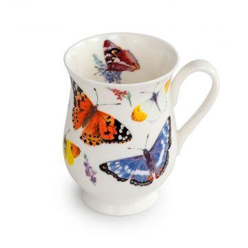 Mugg med fjärilar