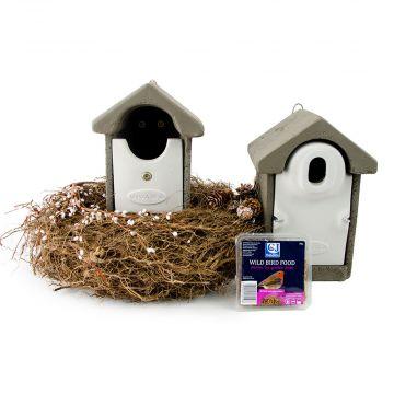 Fågelholkpaket WoodStone XXL