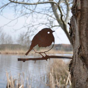 Metalbird Rödhake