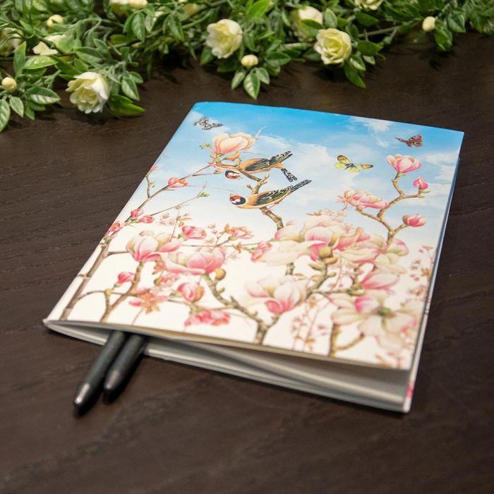 Anteckningsbok A5, Magnolia av Janneke Brinkman