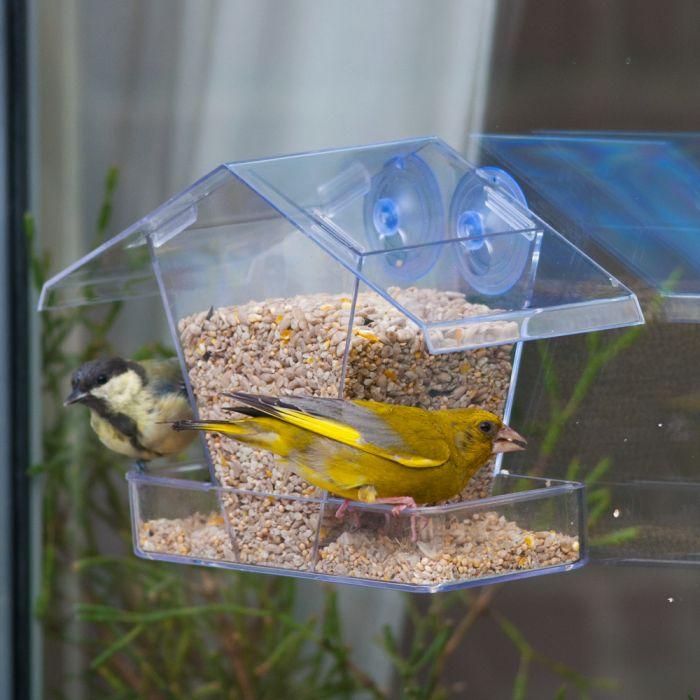Fågelbord för fönster Kreta