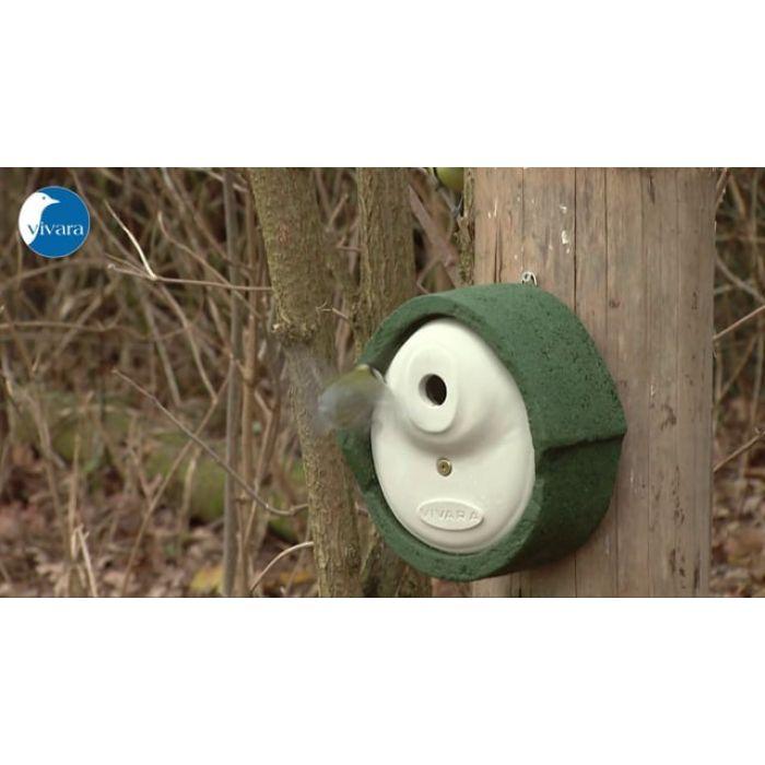 Fågelholk Alicante WoodStone® 28 mm - Grön