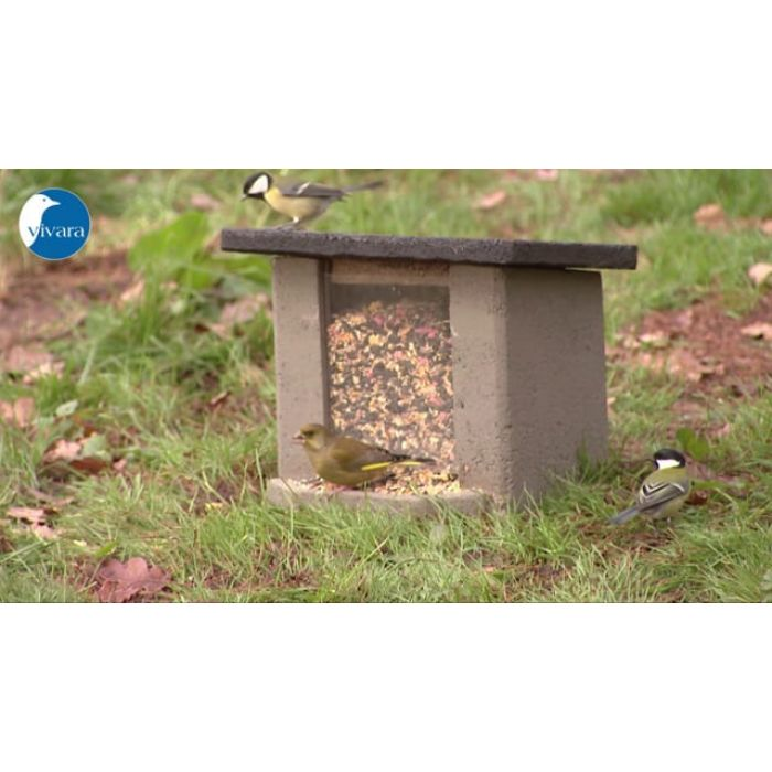 Markutfodringsstation WoodStone®