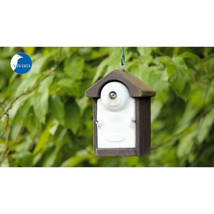 Fågelholk Sevilla WoodStone® 32 mm - Brun