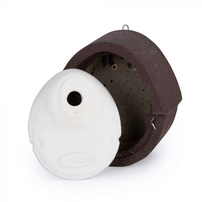 Fågelholk Alicante WoodStone® 32 mm - Brun