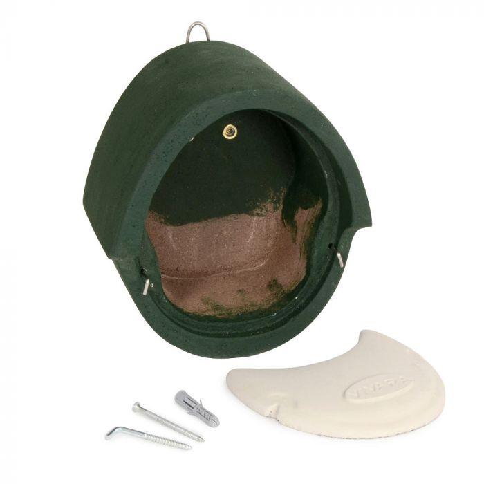 Fågelholk- paket WoodStone® för rödhake