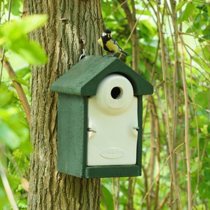 Fågelholk Sevilla WoodStone® 32 mm - Grön