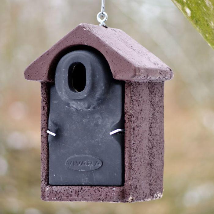 Fågelholk Salamanca WoodStone® oval öppning