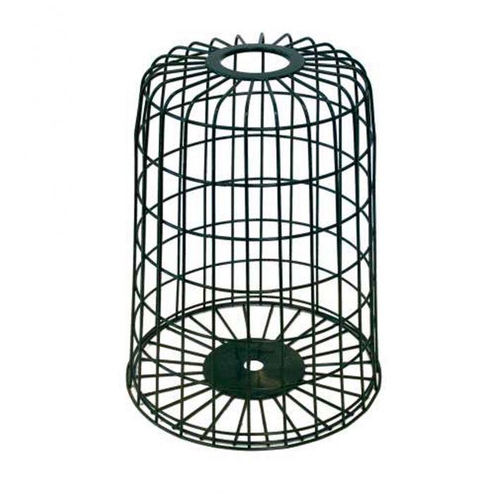 Skydd runt fågelutfodraren
