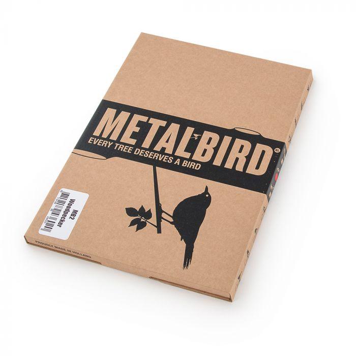 Metalbird Större hackspett