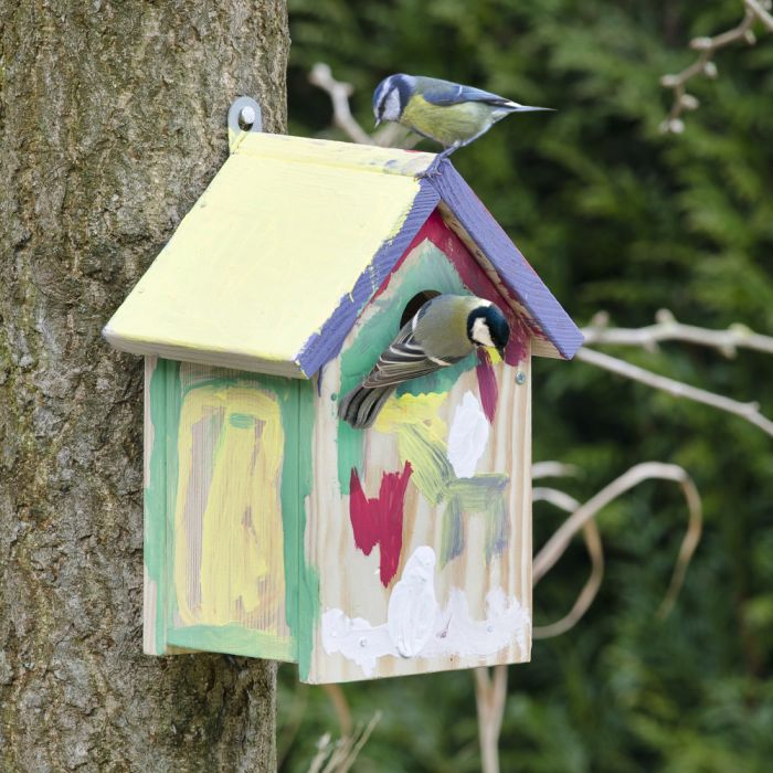 Byggsats fågelholken Nils